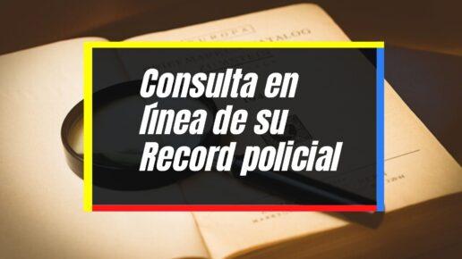 Proceso para generar el certificado de antecedentes penales