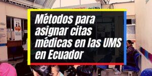 Cómo agendar citas médicas en las Unidades Metropolitanas de Salud