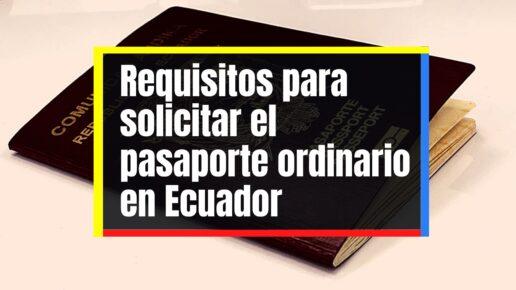 Cómo tramitar el pasaporte ordinario por primera vez