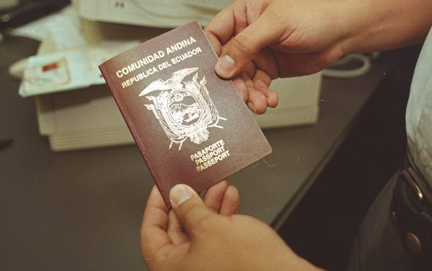 pasaporte ordinario