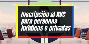 Inscripción al RUC para personas jurídicas en Ecuador