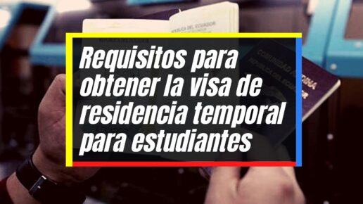 Cómo obtener la visa de residencia temporal para estudiantes